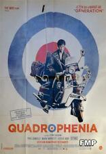 QUADROPHENIA - THE WHO / MOTORCYCLE - RARE REISSUE LARGE FRENCH MOVIE POSTER
