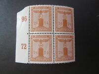 """GERMANY STAMPS  SC #S20 1942 """"DEUTSCHES REICH --NATIONAL WORKERS PARTY"""" BLOCK"""
