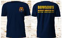 New Bomberos HONDURAS Bomber Fire Department Firefighter T-Shirt S-4XL