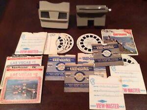 VINTAGE View-Finder Bulk Lot Includes 2View Finders & Many Discs Germany Vegas