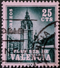 Stamp Spain 1966 25c Valencia Tax Stamp Used