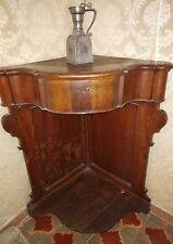 Mobile Angoliera Antica 1800 - 1900 legno Rinascimento 100 x 60 x 60 cm vintage