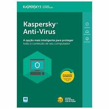 Kaspersky Anti-Virus Software 2018 3 Devices For PC 1 Year New Sealed