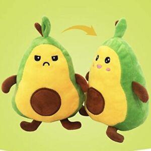 Reversible Flip Avocado Plush Stuffed Toy Soft  Flip Impostor Fluffy Mood