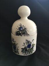 Vintage Arabia Finland Lidded Vanity Jar Hand Painted Hilkka Liisa Ahola 1960's