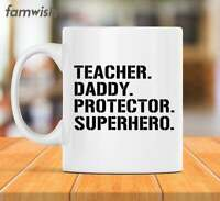 Teacher Mug Gifts For Dad Fathers Day Cup Papa Coffee Mug Husband Gift Teacher