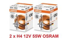 2 x 12V H4 55/60W OSRAM Original Bilux Car Bulb Headlight Halogen Lamp 64193