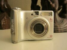 Canon PowerShot A530 5.0MP Digital Camera - Silver (1119B007AA)