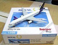 Herpa Wings 1:500 503792 Royal Aviation Canada B757-200 - Diecast Airplane Model