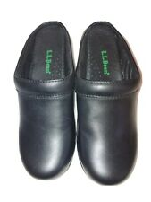 NWOT LL Bean womens shoes 5.5 Black Mules