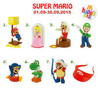 2015 McDONALD'S SUPER MARIO HAPPY MEAL TOYS Choose your NEW & SEALED