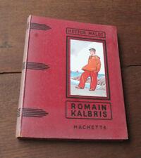 1955 Romain Kalbris Hector Malot Cartonnage illustré Gautier Normandie Roman