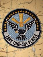 Vintage USN Vietnam Cold War Era VP-9 Squadron Rocker Shoulder Tab Patch