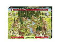 1000 PIÈCES Heye PUZZLE HY29638 - Heye Puzzles Noir Forest Habitat