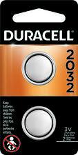 Duracell CR2032 Lithium Battery 3 Volt DL2032 2032 2 Pack