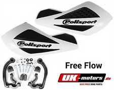 libre circulation Polisport protecteurs de mains blanc Access / triton baja 300