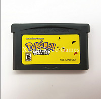 Nintendo GBA Video Game Console Card Cartridge Pokemon Advance Adventures