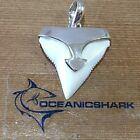 B41 27MM BULL SHARK TOOTH SILVER PENDANT U WILL GET ITEM IN PHOTO! FATHERS DAY