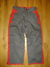 GAP BOYS GIRLS SKI SNOW SnowPants Squall Pants Size Small 5 / 6 GRAY RED