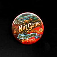 SMALL FACES BADGE & STICKERS. Ogdens Nut Gone Flake.