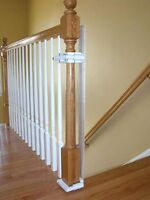 No Hole Stairway Baby Gate Mounting Kit By Safety Innovations