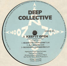 DEEP COLLECTIVE - Keep It Open / Jumpin' - 1992 - ZOOM 011 - Uk