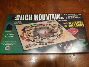 New Rare 1983 Witch Mountain Witches Dragons Board Game B&B Games Haunted House