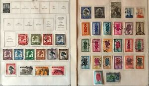 Lot of Belgian Congo Old Stamps Used