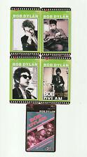 (5) Bob Dylan Rare Phone Cards