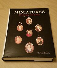 Miniatures: Dictionary and Guide by Daphne Foskett 2000 Hardcover w/ Dust Jacket