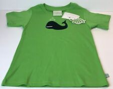 Girls Lolly Wolly Doodle Green T-Shirt Size 8/9 or 12 Blue Whale Spouting Water