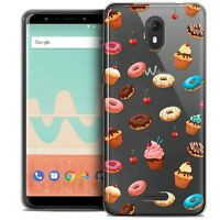 """Coque Gel Pour Wiko View GO (5.7"""") Souple Foodie Donuts"""