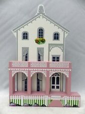 Shelia's Collectibles - Pink Stockton Row - Painted Ladies Iii Series # Lad19Ii