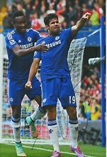 CHELSEA HAND SIGNED DIEGO COSTA 12X8 PHOTO PROOF 5.