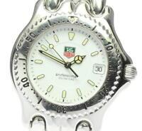 TAG HEUER S/el WG1110-K0 white Dial Quartz Men's Watch_609806