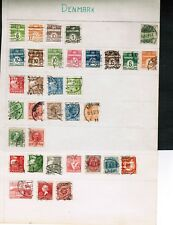 DENMARK  CLEAR OUT CLASSIC 1882++  60+ STAMPS**  see scan  cat $200.00?? LOT 304