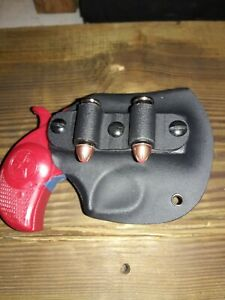 Bond Arms Texas Defender and Rowdy Custom Kydex Holster w/Xtra Ammo Attachment