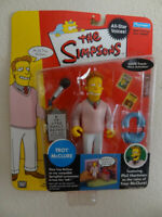 The Simpsons TROY McCLURE  All - Star Voices !  Figure.