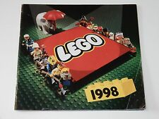 VINTAGE LEGO 1998 CATALOG FOLDER BROCHURE DANSK DANISH