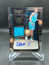 2017-18 Select Rookie Patch Auto Dwayne Bacon /199 - Charlotte Hornets