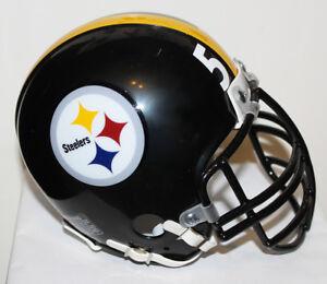 Jack Lambert Pittsburgh Steelers Riddell Mini Helmet with Black Metal  NJOP Mask