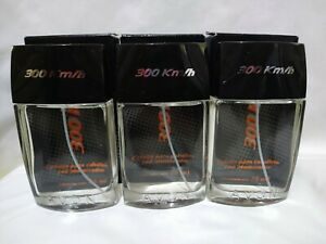 Lot of 3 Avon 300 km/h Cologne Spray for Men Colonia para Caballero 75ml