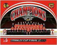 "Chicago Blackhawks 2015 Stanley Cup Team Photo (8"" x 10"")"