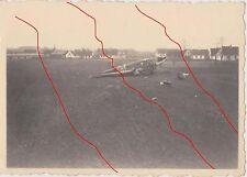 original Foto LW Luftwaffe  JU  52  bei Landung  beschädigt  Bild II