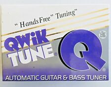 NEW Qwik Tune Automatic/Hands Free Guitar & Bass QT10  Pedal Tuner