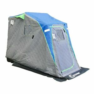 Clam Legend XL Thermal Ice Team Edition insulated ice fishing house