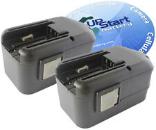2x Battery for Milwaukee 18 Volt Power Tools 1.3 AH 18V 48-11-2200 2230 2232