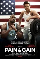 Pain Und Gain Original Advance Zweiseitig Kinofilm Plakat Mark Wahlberg