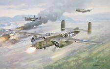 """Big Bang in Burma"" Roy Grinnell WW II Aviation Giclee Print or Canvas - B-25"