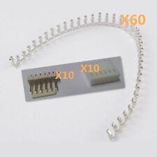 60* KF2510-6P 2.54mm Female Pin Terminals &10*Header &10*Housing Connector Kits
